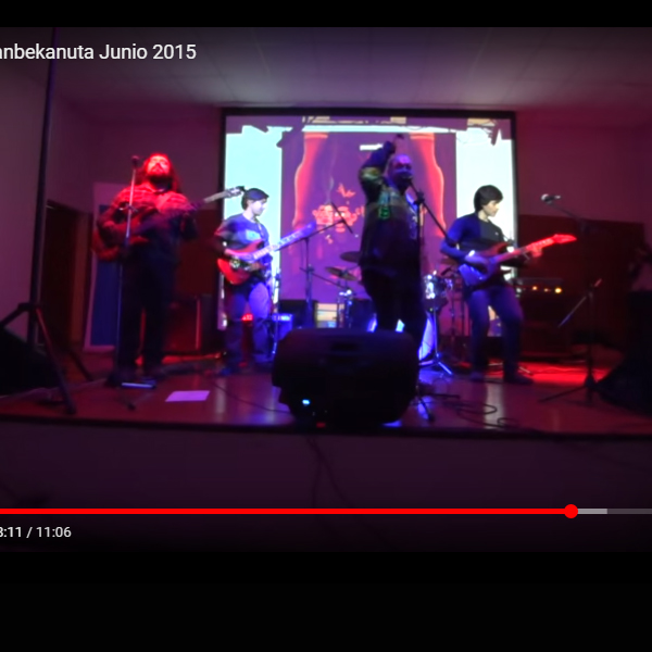 Registro de presentación de Sanbekanuta 2015