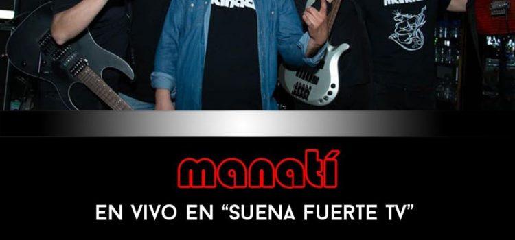 Banda Manatí en Suena Fuerte TV